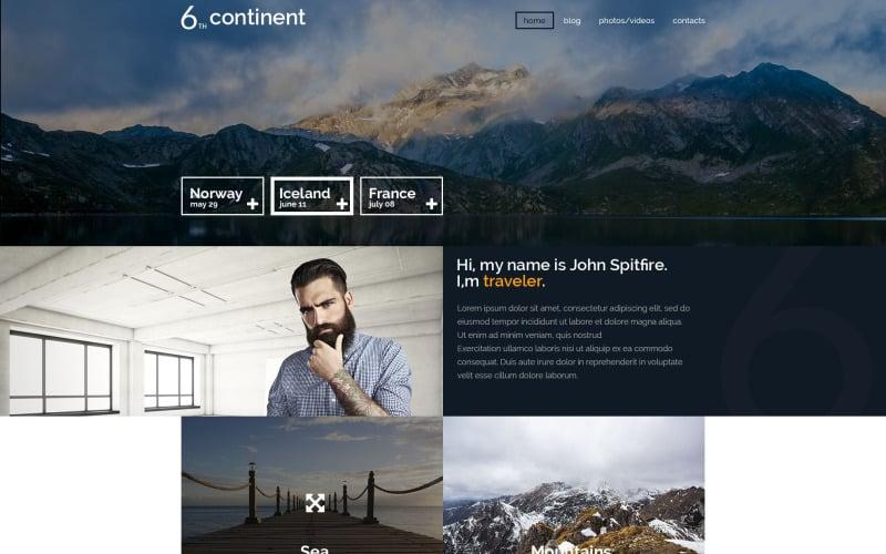 6th Continent WordPress Theme