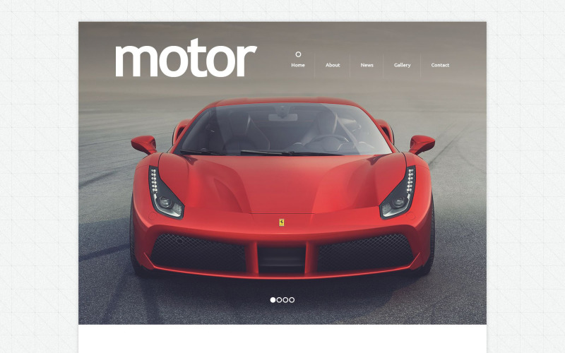Cars and Bikes Drupal Template