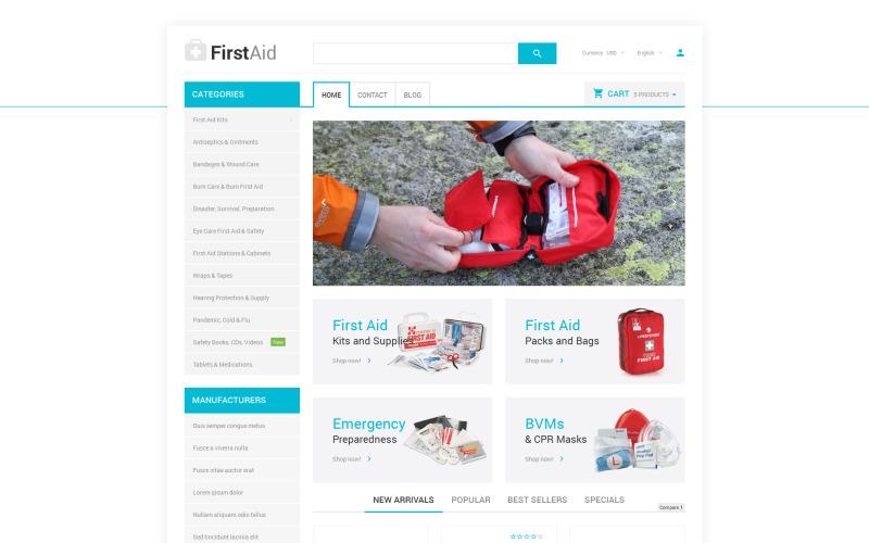 Healthcare Essentials Store PrestaShop Theme