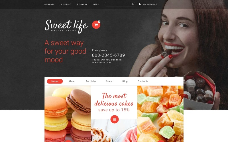 Sweet Life WooCommerce Theme