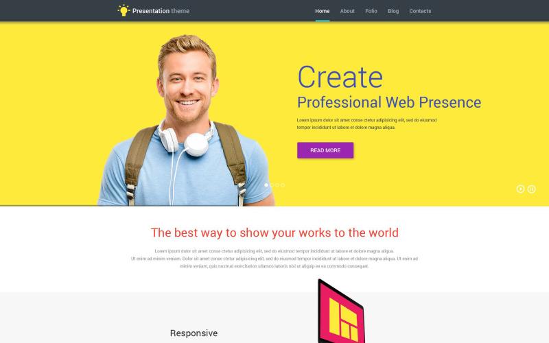 Web Presentation WordPress Theme