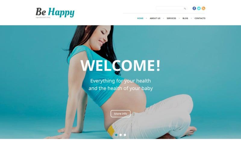 Be Happy WordPress Theme