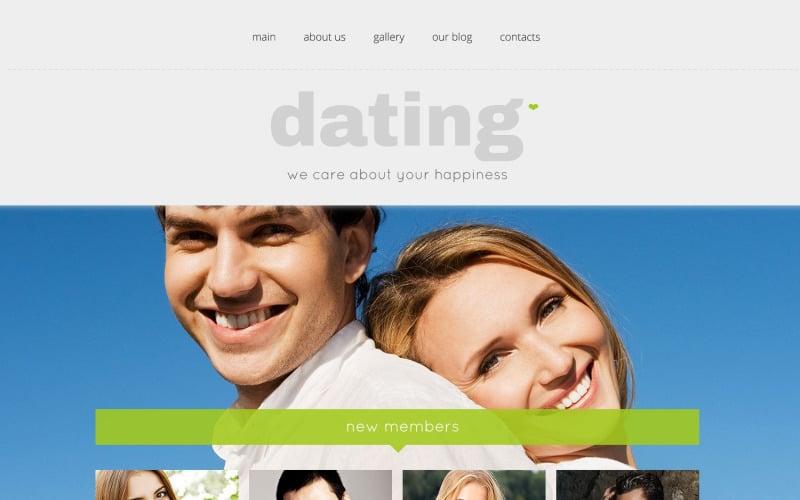 Dating Responsive WordPress Theme