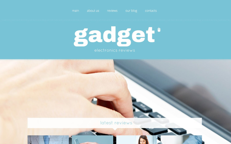 Elektronikai áruház érzékeny WordPress téma