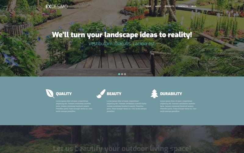 Exdesimo - Landscape Multipurpose Modern WordPress Elementor Theme