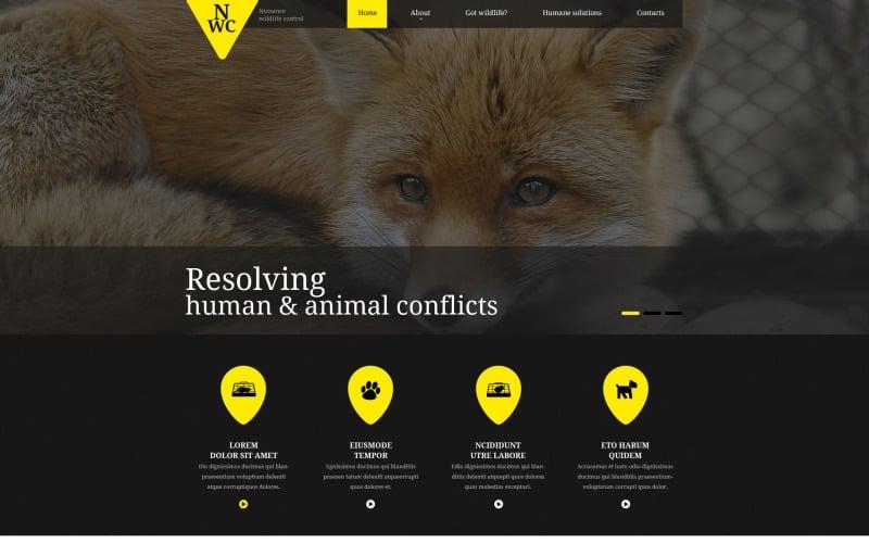 Wild Life Responsive Website Template