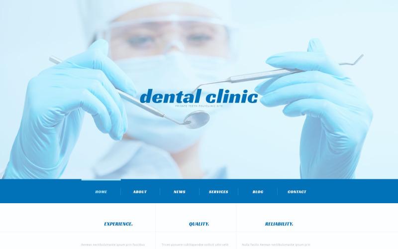 Адаптивная тема WordPress для стоматологии