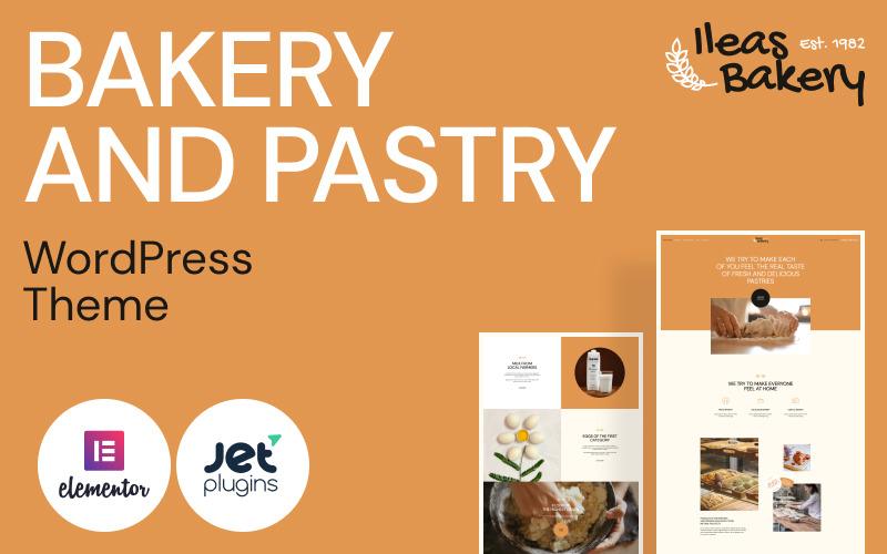 Bakery and Pastry - Ileas Bakery WordPress Theme
