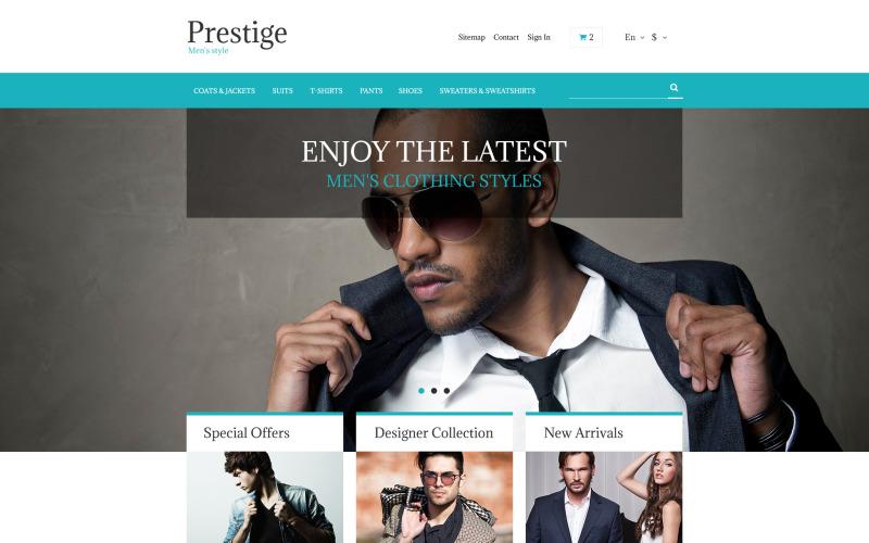 Tema PrestaShop gratuito para tienda de moda