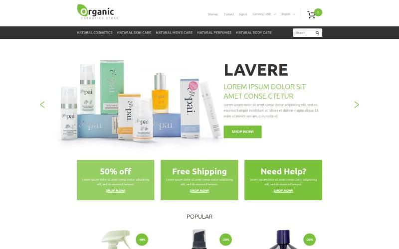 Organic Goods PrestaShop Theme
