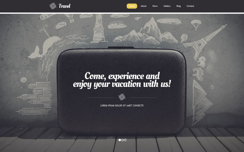 WordPress тема туристического агентства