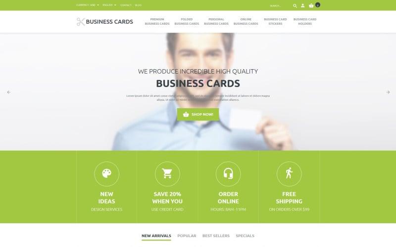Business Cards Store PrestaShop Theme
