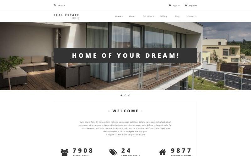 Drupal-Vorlage für Immobilienanbieter