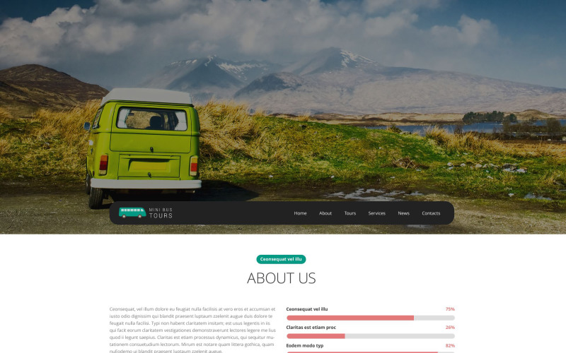 Pro Travel Website Website Template