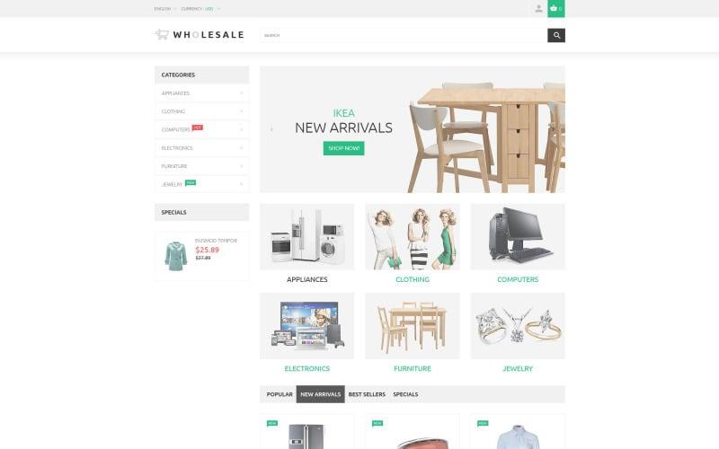 Wholesale PrestaShop Theme