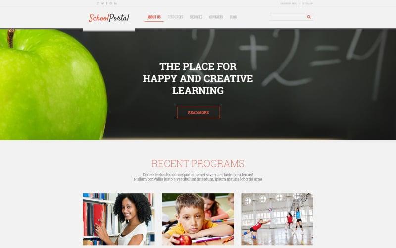 Elementary School Responsive WordPress Theme
