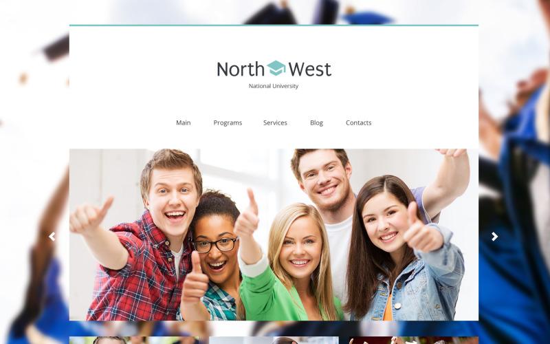 Északnyugati WordPress téma