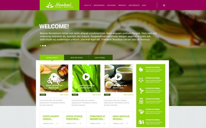 Herbal Responsive WordPress Theme
