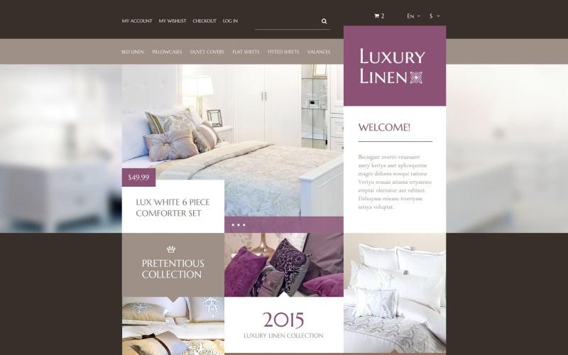 Luxury Linen Store PrestaShop Theme