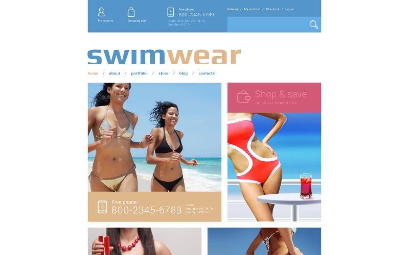 Swimwear Store WooCommerce Theme