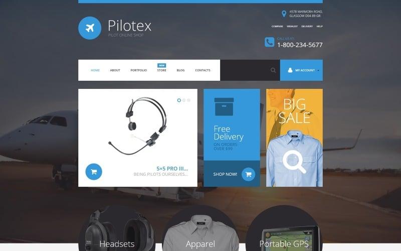 Tema Pilotex WooCommerce