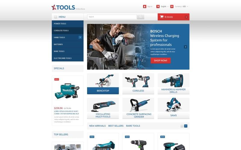 Tools and Equipment PrestaShop Theme
