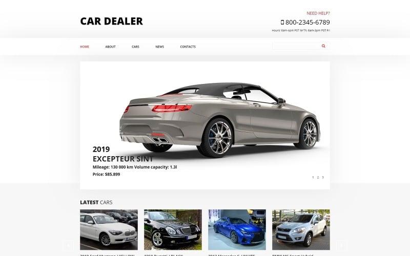 Car Dealer - Car Dealer Clean Joomla Template