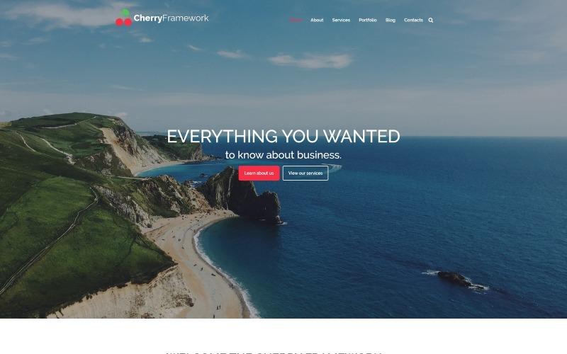 Cherry Framework Darmowy motyw WordPress