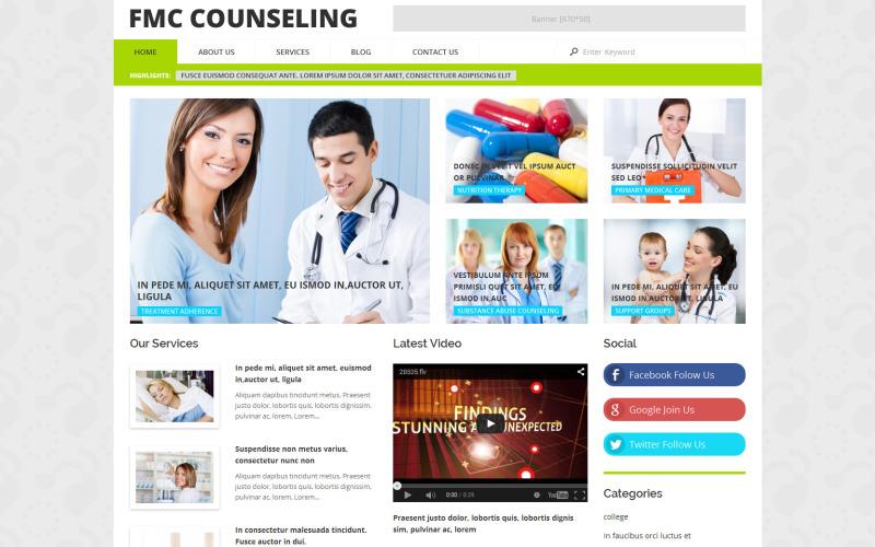 FMC Counseling WordPress Theme
