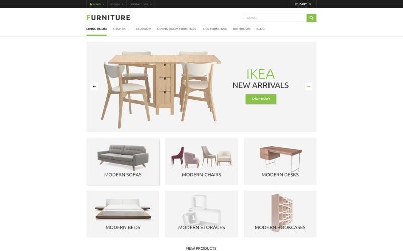 Furniture Store PrestaShop Theme