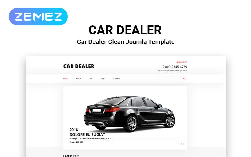 CarsNews - Cars Modern Joomla Template