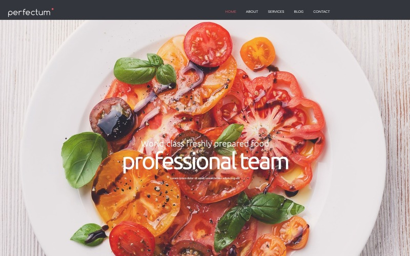 Euporean Restaurant Joomla Template