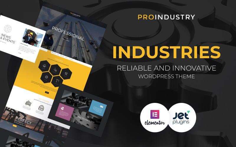 ProIndustry WordPress Teması