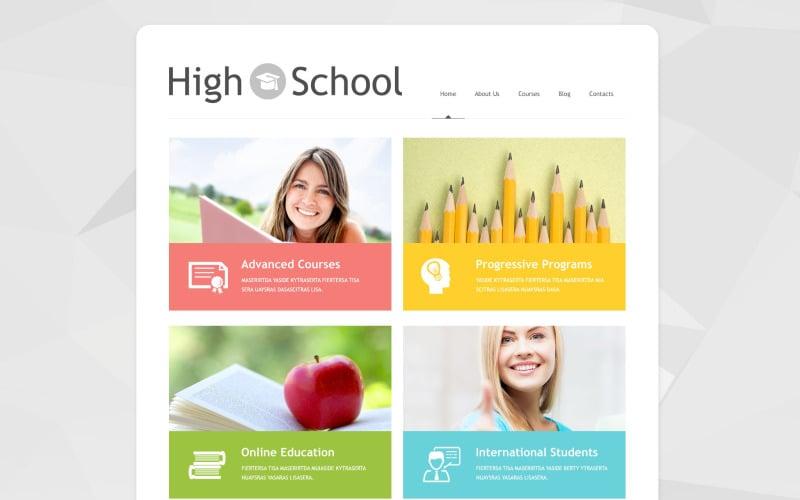 Schoolmaster WordPress Theme