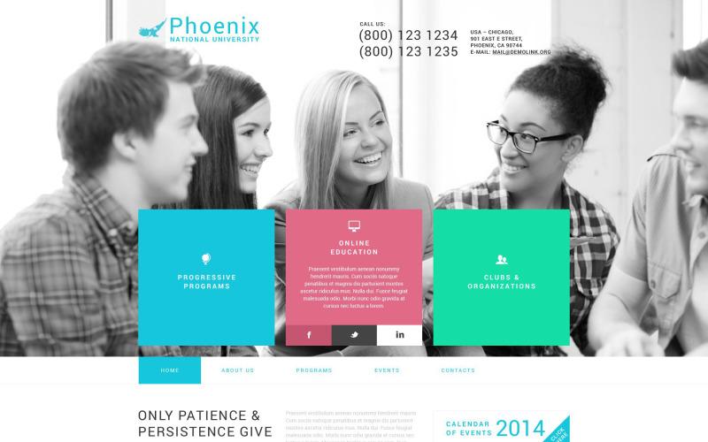 Tema de WordPress de Phoenix