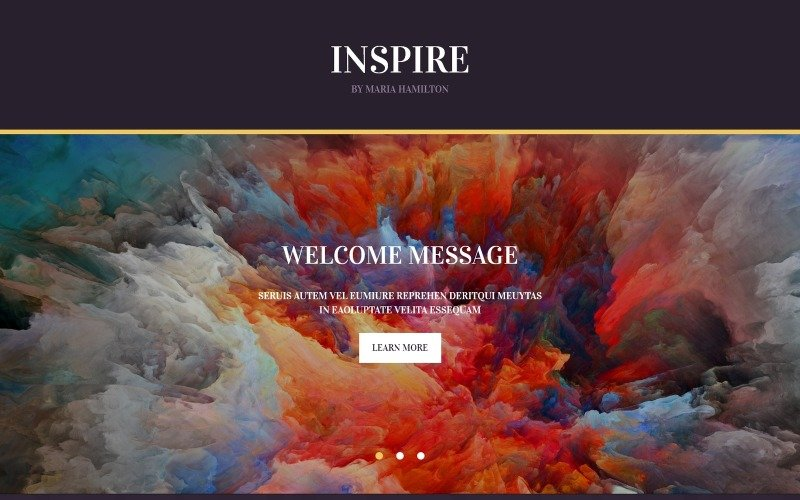 Painting Company Responsive Landing Page Template