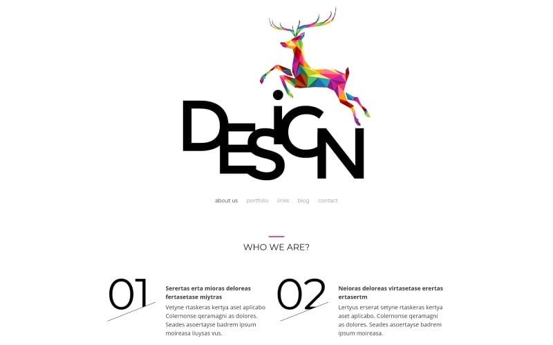 Тема WordPress для агентства веб-дизайна