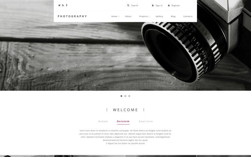 Template Drupal de Fotografia