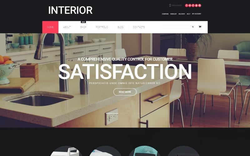 Diseño de interiores Tema WooCommerce