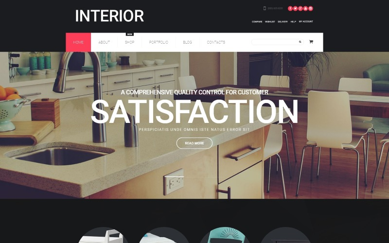 Interior Design WooCommerce Theme