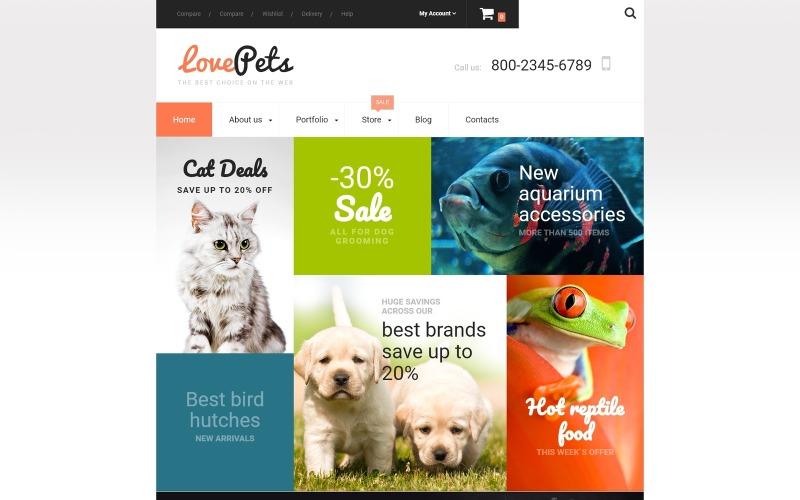 Liebe Haustiere WooCommerce Theme