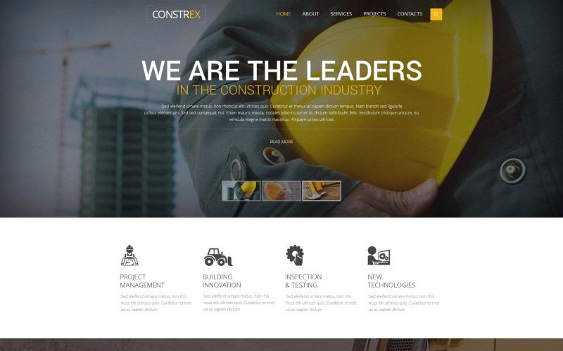 Constrex Website Template