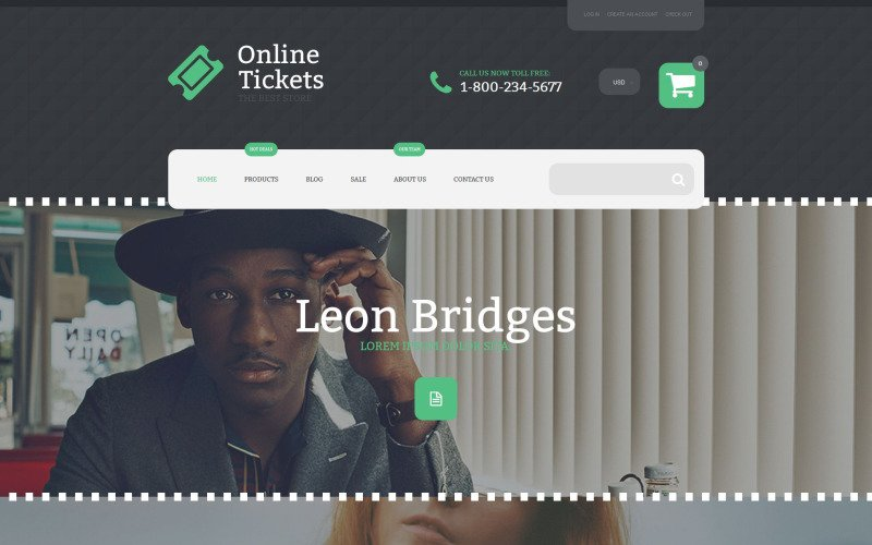 Online Tickets Shopify Theme