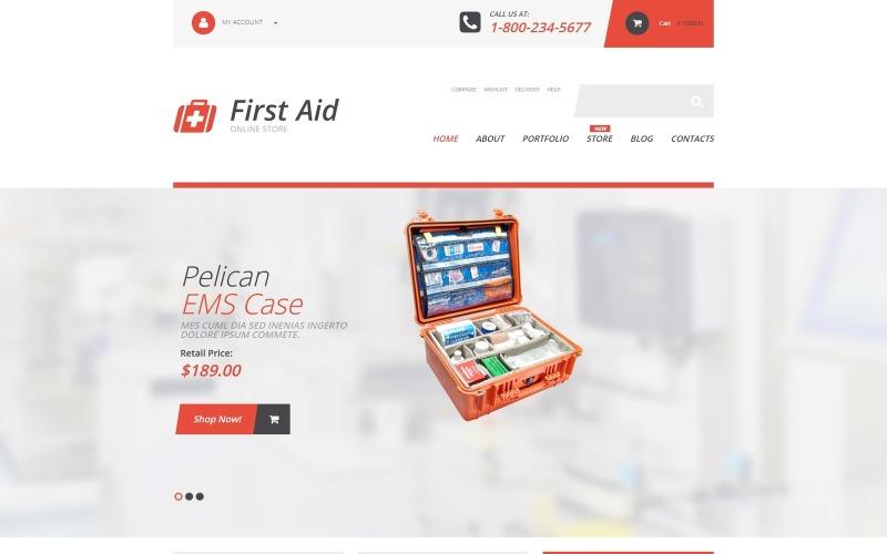 Suministros de primeros auxilios Tema WooCommerce