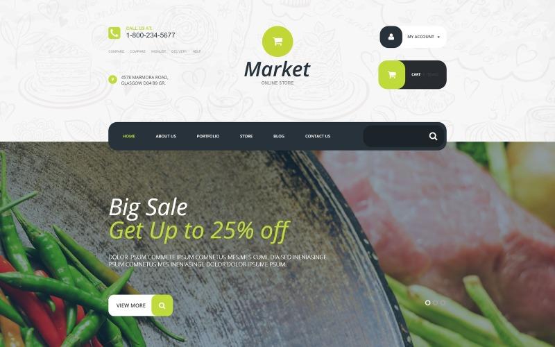 Supermarket WooCommerce Theme
