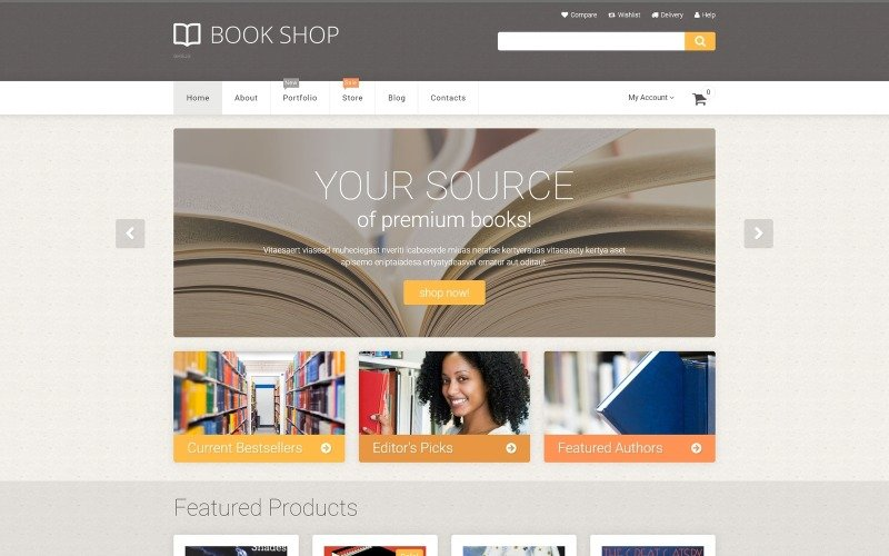 Book Store WooCommerce Theme