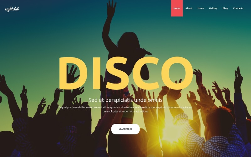 Nightclub Joomla Template