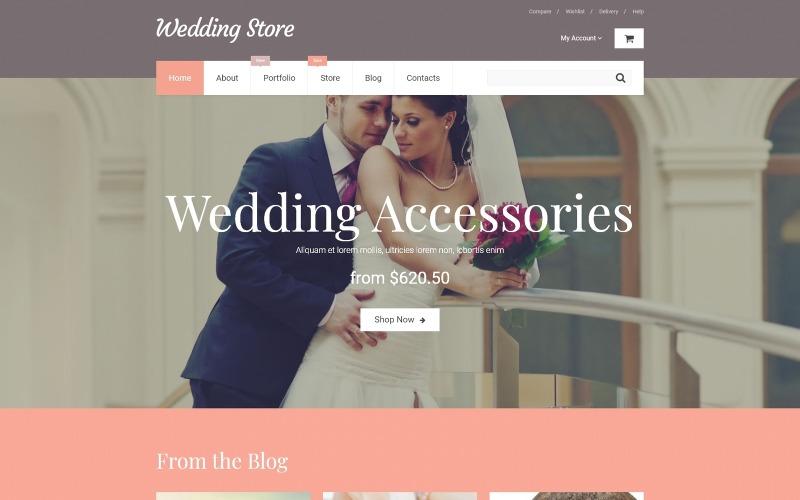 Wedding Store WooCommerce Theme