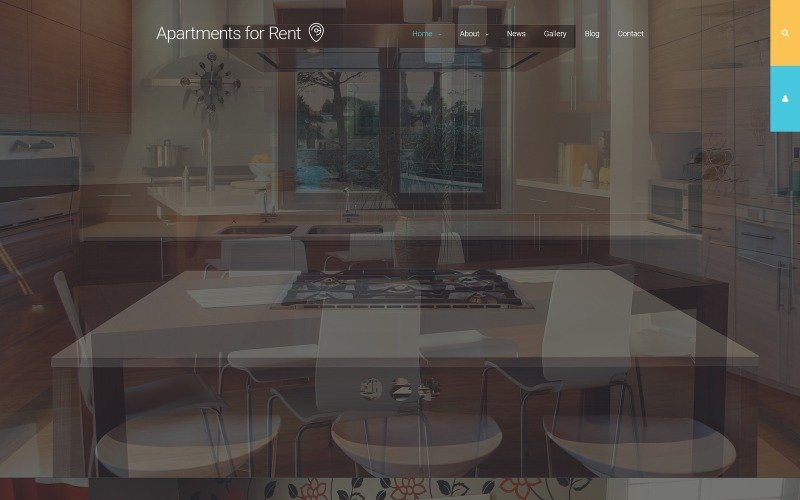 Apartments for Rent Joomla Template