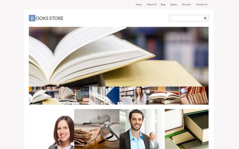 Library Responsive WordPress Theme